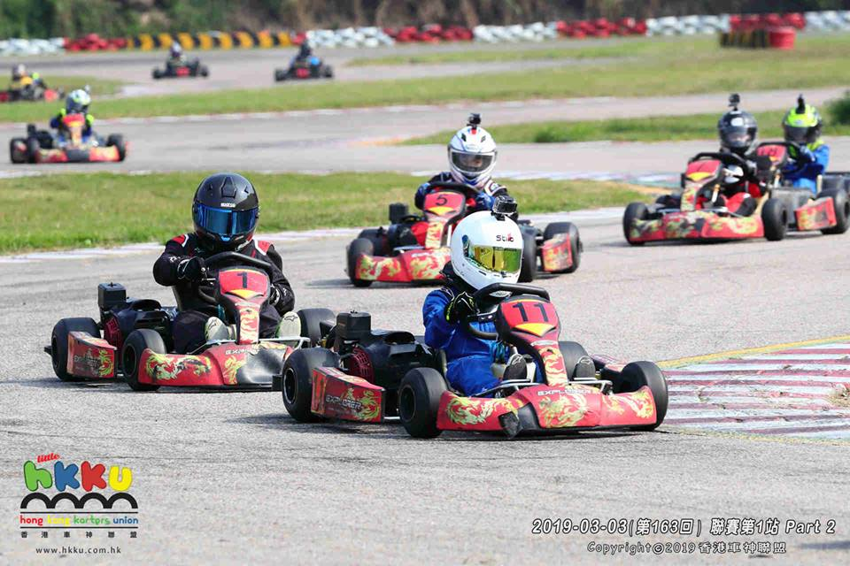 HKKU Cadet_Brandon Lee_Karting